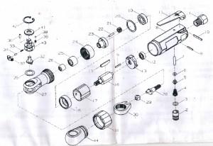 Ремонт пневмоинструмента 2